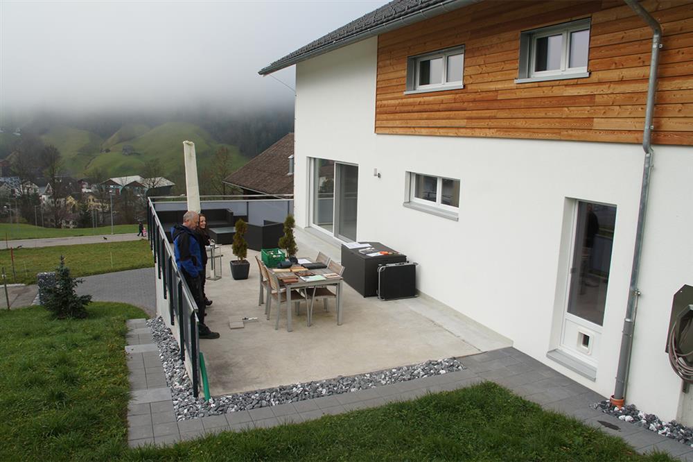 Terrassengestaltung mit wasserbecken  Terrassengestaltung - Conma Gartendesign