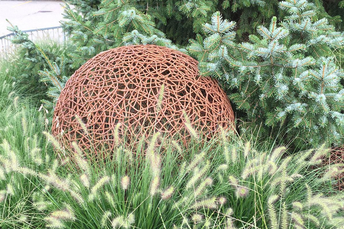 Drahtkugeln - Conma Gartendesign