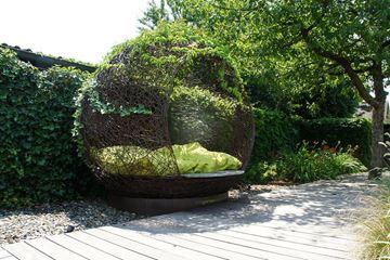 Bild von Drahtkugel-Lounge