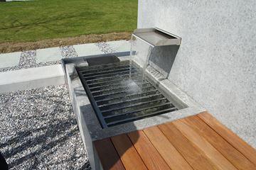Bild von Wasserschütte CNS für Mauereinbau