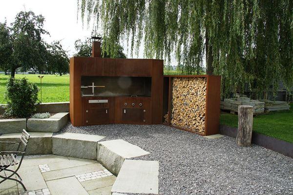 Bild für Kategorie Feuerstellen / Holzlager