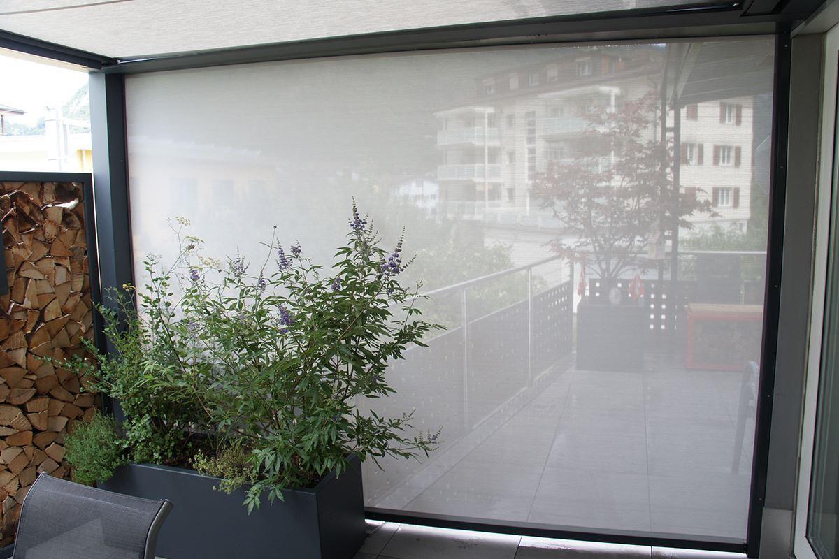 Seitenmarkise Solid Screen Conma Gartendesign