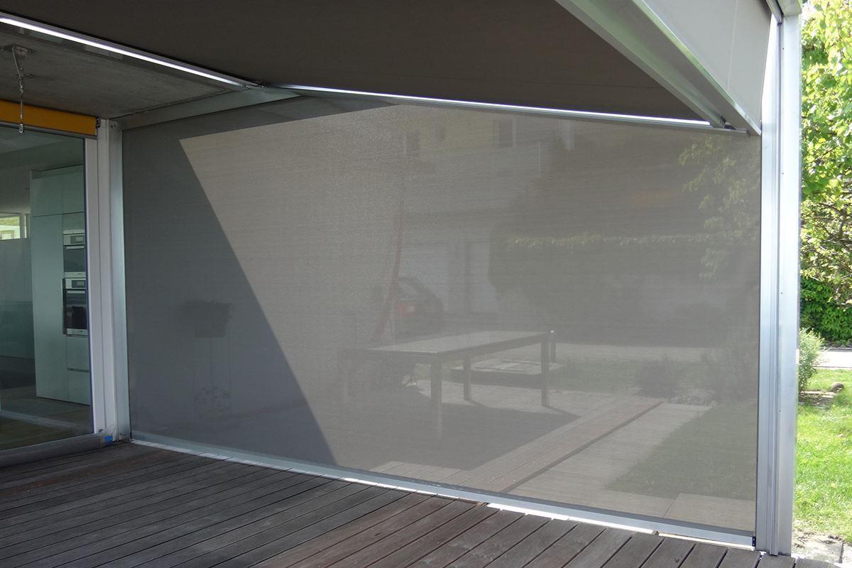 seitenmarkise solid screen conma gartendesign. Black Bedroom Furniture Sets. Home Design Ideas