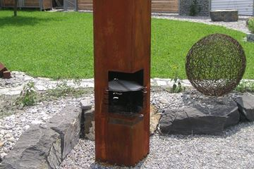 Bild von Feuerstelle Quadrante