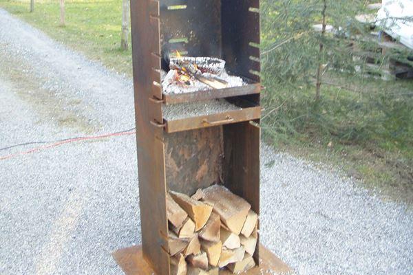 Bild von Feuerstelle Quadro