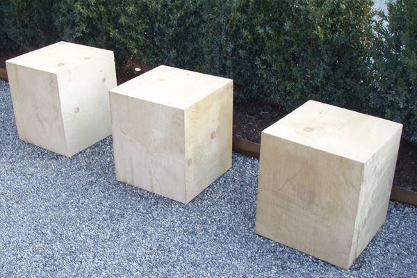 Bild von Holzsitz