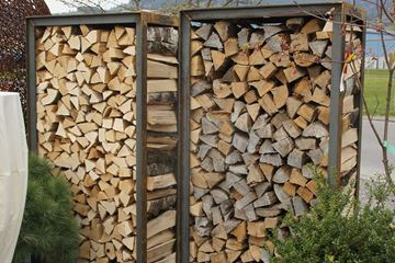 Bild von Holzlager B - mit Blech oben