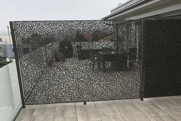 Bild von Drahtwand zum Einhängen, pulverbeschichtet